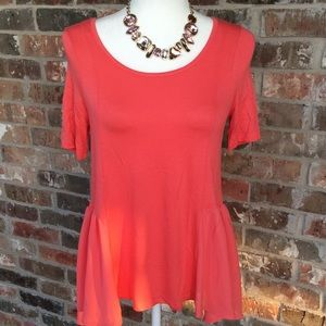 LIVING DOLL LOS ANGELES CORAL TOP